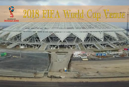 [T31-010 ] 2018 Russia FIFA World Cup Soccer Football Venue Stadium , China Pre-stamped Card, Postal Stationery - World Cup