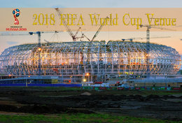 [T31-012 ] 2018 Russia FIFA World Cup Soccer Football Venue Stadium , China Pre-stamped Card, Postal Stationery - World Cup
