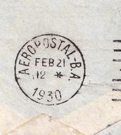 Lettre 1930 Buenos Aires Argentine Aeropostal Compagnie Générale Aéropostale - Poste Aérienne
