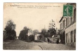91 ESSONNE - LONGJUMEAU Grande Rue, Maison Petit Et Entrée Du Pays (voir Descriptif) - Longjumeau