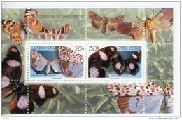 Cap Vert-Cabo Verde-1999-Papillons-B28***MNH- - Cape Verde