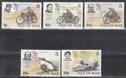 ISLE OF MAN     SCOTT NO. 214-18      MNH     YEAR  1982 - Isle Of Man