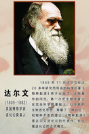 [T31-030 ] Charles Robert Darwin Naturalist, Geologist  Biologist, China Pre-stamped Card, Postal Stationery - Famous People