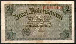 Germany,1940,2 Reichmark,P.137b,as Scan - [ 3] 1918-1933 : República De Weimar