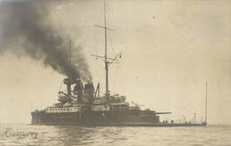 Military, Navy, Henri IV. Battleship, Old Photo Postcard Pre. 1905 - Militaria