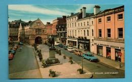 Royaume Uni United Kingdom Pays De Galles Wales Shropshire Shrewsbury Market Square  ( Format 9 X 14 ) - Pays De Galles