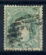 Espagne 1870 Mi. 104 Oblitéré 100% 400 M, Espagne - 1868-70 Provisional Government