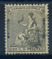 Espagne 1873 Mi. 128 Oblitéré 80% Siège De L'Espagne, 20 C - 1873 1st Republic
