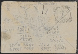 STORIA POSTALE REGNO - ANNULLO TONDO-RIQUADRATO PALIANO/(ROMA) (N.C.) SU  BUSTA DA ROMA 23.05.1907 - Poststempel