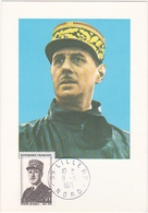 FDC - 1971 - LILLE - NORD / GENERAL DE GAULLE / Juin 1940 / Timbre 0.50 - FDC