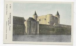 (RECTO / VERSO) NOIRMOUTIER - LE CHATEAU - TEXTE AU VERSO - FORMAT CPA - Noirmoutier