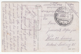 Warnemünde Special Postmark With Feldpost Postmark On Warnemünde Old Postcard Travelled 1942 B180420 - Alemania
