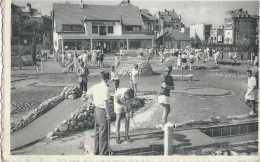 Middelkerke - Klein Golfspel - Golf Miniature - Circulé En 1952 - Animée - TBE - Middelkerke