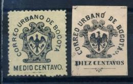 Colombie 1889-1903 Mi. 2-3 Sans Gomme 80% Aigle - Colombia