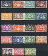 6588   GUYANE  N°182/200 *   Série De Londres    1945      TB - Unused Stamps