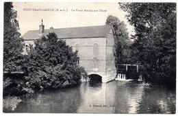 EURE - Dépt N° 27 = PONT TRANCHEFETU 1931 = CPA Cliché Foucault = Le Vieux Moulin - France