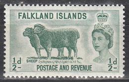 FALKLAND ISLANDS     SCOTT NO. 122    MNH    YEAR  1955 - Falkland Islands