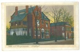1924 Delfzijl, Burgermeester Villa Pc Used TPO Pmark - Delfzijl