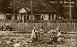 Salutari Din ROMANIA - Casa La Tara   RUMANIA // ROMANIA. - Rumania