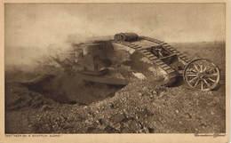 Military, World War I., Tank, They Keep On A Shufflin Along, Old Postcard - War 1914-18