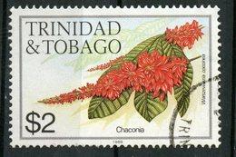 Trinidad And Tobago 1989 $2.00  Chaconia Issue #404j  Stamp Is Used - Trinidad & Tobago (1962-...)