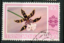 Trinidad And Tobago 1978 40c  Miltassia Issue #286  Stamp Is Used - Trinidad & Tobago (1962-...)