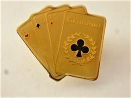 PINS  JEU DE CARTES GRIMAUD / 33NAT - Games