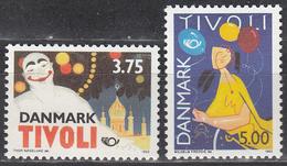 DENMARK     SCOTT NO. 981-82    MNH    YEAR  1993 - Unused Stamps