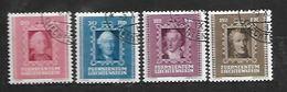 1942 - N. 182/85 (CATALOGO UNIFICATO) - Liechtenstein
