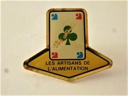 PINS JEU DE CARTES TREFLE VOS ATOUTS LES ARTISANTS DE L'ALIMENTATION / 33NAT - Games