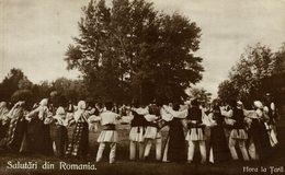 1912   Salutari Din ROMANIA -  HORA LA TARA    RUMANIA // ROMANIA. - Rumania