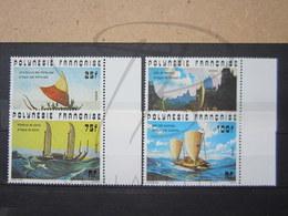 VEND BEAUX TIMBRES DE POLYNESIE N° 111 - 114 + BDF , XX !!! - Polynésie Française