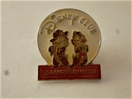 PINS  DISNEY CLUB LES RANGERS DU RISQUE / Signé Diseney Arthus Bertrand / 33NAT - Disney