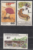 CZECHOSLOVAKIA    SCOTT NO. 1769-71    MNH     YEAR  1971 - Cecoslovacchia