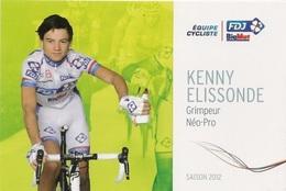 Kenny Elissonde - FDJ Big Mat - 2012 - Cycling