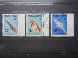 VEND BEAUX TIMBRES DE POLYNESIE N° 142 - 144 + BDF , XX !!! - Polynésie Française