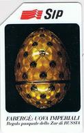 USATA   £. 5.000  -  31.12.1992  FABERGE' :  UOVA  IMPERIALI - Italy