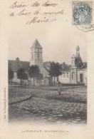 CPA - Le Perray - Mairie Et Eglise - Le Perray En Yvelines