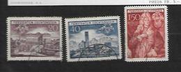 1949 - N. 243/45 (CATALOGO UNIFICATO) - Liechtenstein