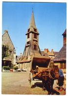 CPM  14 HONFLEUR Vieux Clocher ( Attelage ) - Honfleur