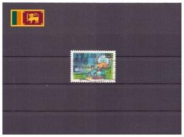 Sri Lanka 1990 - Oblitéré - Famille - Développement National - Michel Nr. 909 Série Complète (sri068) - Sri Lanka (Ceylon) (1948-...)