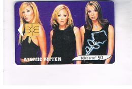 FRANCIA (FRANCE) -    2002 ATOMIC KITTEN, MUSIC - USED°- RIF. 10920 - France