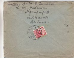 Lituanie - Lettre De 1927 ° - Oblit Marijampole - Exp Vers Gand - Lithuania