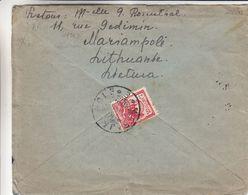 Lituanie - Lettre De 1927 ° - Oblit Marijampole - Exp Vers Gand - Lituania
