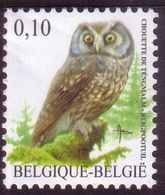 BE 2007 - BUZIN - N°3624 XX - Chouette De TENGMALM - 1985-.. Oiseaux (Buzin)