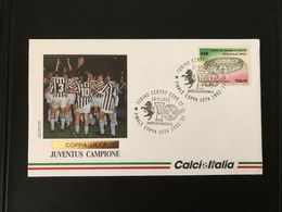Busta Ufficiale Geosport CalcioItalia Juventus Campione Coppa UEFA 1992-1993 - Eurocopa (UEFA)