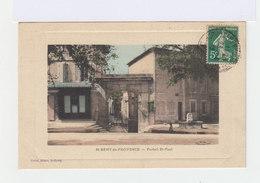 Saint Rémy De Provence. Portail Saint Paul. Avec Fontaine. (2697) - Saint-Remy-de-Provence