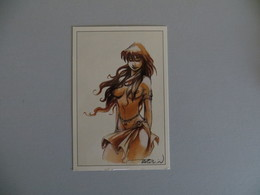 Carte Postale De CIXI 2 Dansla BD  Lanfeust (Tarquin Et Arleston) - Bandes Dessinées