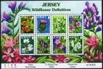 Jersey 2005 Yvertn° Bloc 63 *** MNH Cote 15 Euro Flore Bloemen Flowers - Jersey
