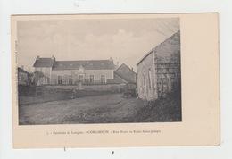52 - CORGIRNON / RUE HAUTE ET ECOLE SAINT JOSEPH - France